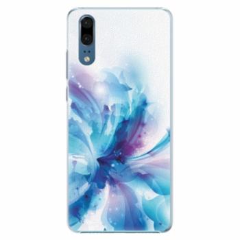 Plastové pouzdro iSaprio - Abstract Flower - Huawei P20