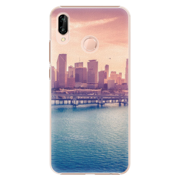 Plastové pouzdro iSaprio - Morning in a City - Huawei P20 Lite