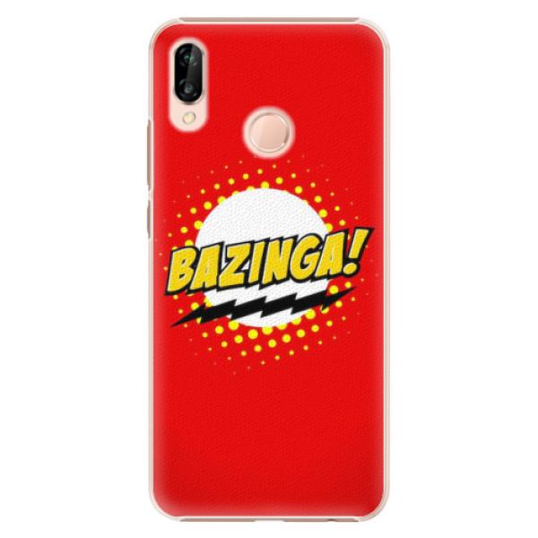 Plastové pouzdro iSaprio - Bazinga 01 - Huawei P20 Lite