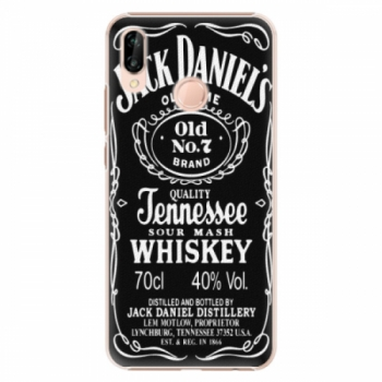 Plastové pouzdro iSaprio - Jack Daniels - Huawei P20 Lite