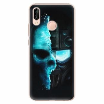 Plastové pouzdro iSaprio - Roboskull - Huawei P20 Lite
