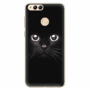 Plastové pouzdro iSaprio - Black Cat - Huawei Honor 7X