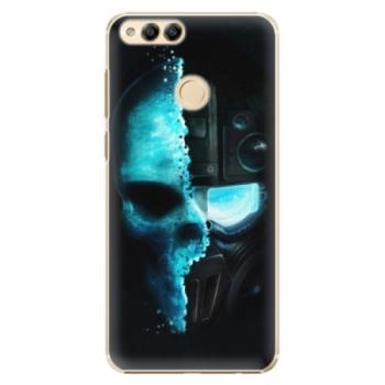 Plastové pouzdro iSaprio - Roboskull - Huawei Honor 7X