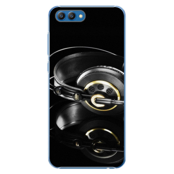Plastové pouzdro iSaprio - Headphones 02 - Huawei Honor View 10
