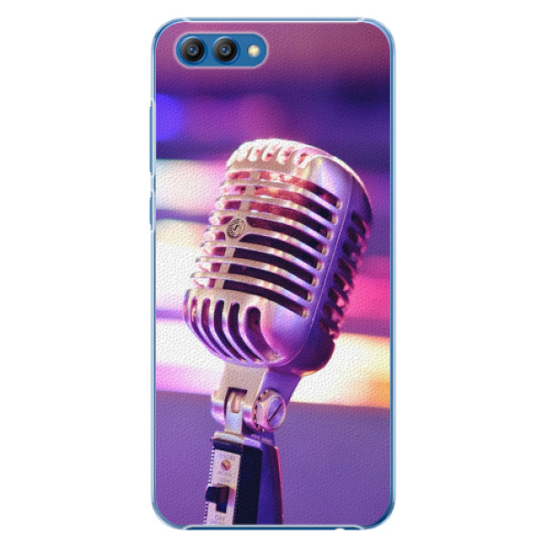 Plastové pouzdro iSaprio - Vintage Microphone - Huawei Honor View 10