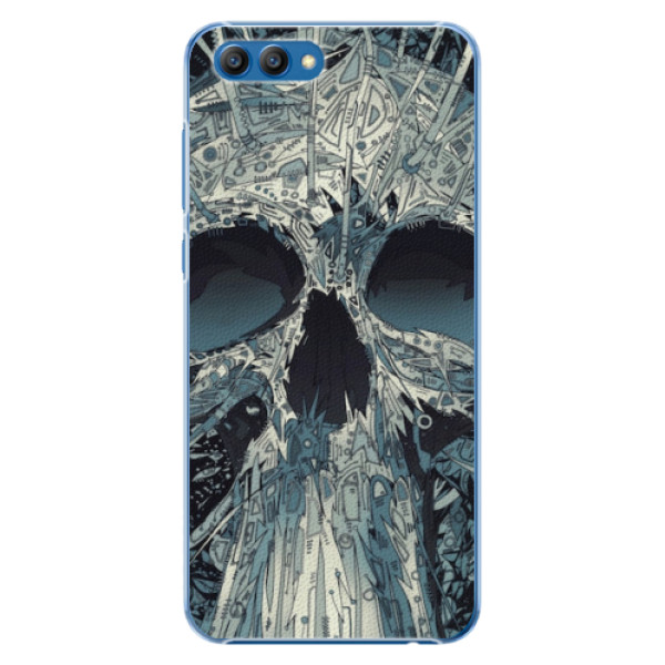 Plastové pouzdro iSaprio - Abstract Skull - Huawei Honor View 10