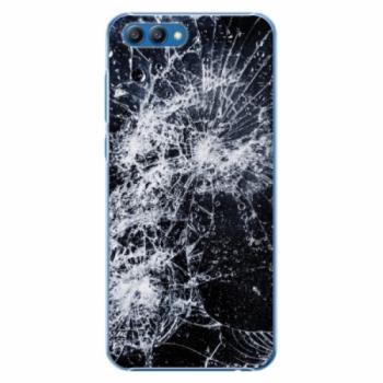 Plastové pouzdro iSaprio - Cracked - Huawei Honor View 10