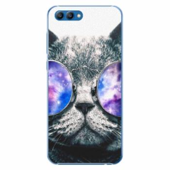 Plastové pouzdro iSaprio - Galaxy Cat - Huawei Honor View 10