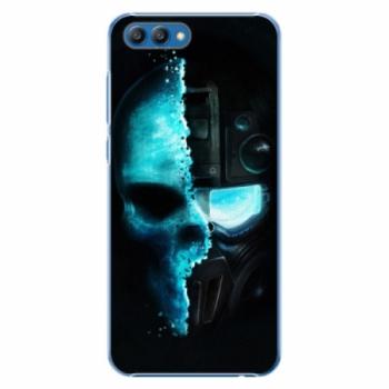 Plastové pouzdro iSaprio - Roboskull - Huawei Honor View 10