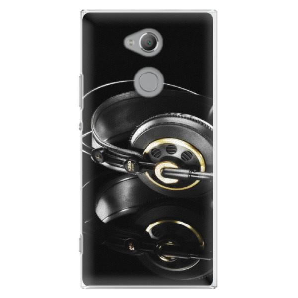 Plastové pouzdro iSaprio - Headphones 02 - Sony Xperia XA2 Ultra