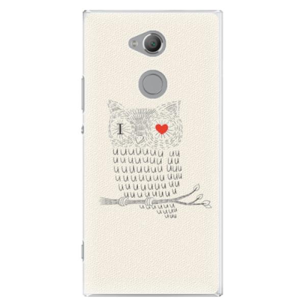 Plastové pouzdro iSaprio - I Love You 01 - Sony Xperia XA2 Ultra