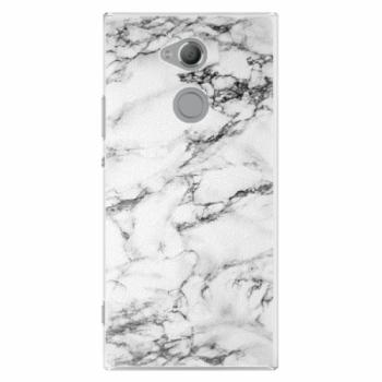 Plastové pouzdro iSaprio - White Marble 01 - Sony Xperia XA2 Ultra
