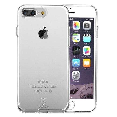 Pružný kryt Baseus Simple pro iPhone 7 Plus transparentní