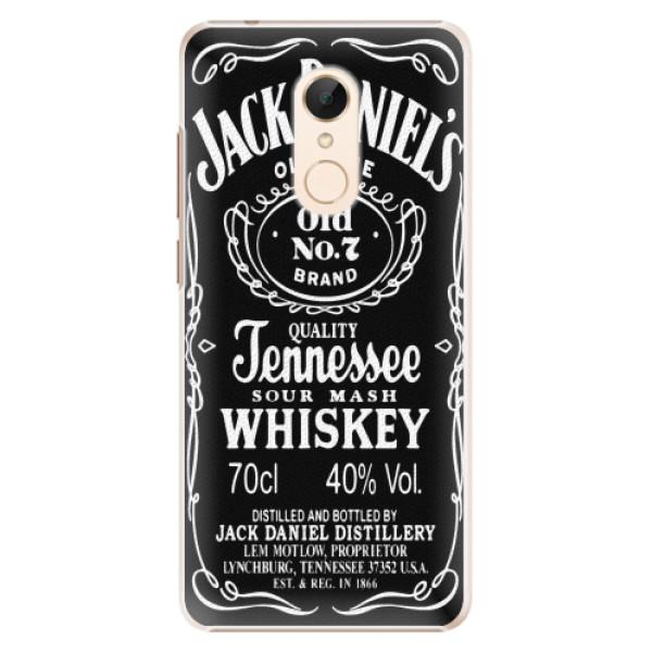 Plastové pouzdro iSaprio - Jack Daniels - Xiaomi Redmi 5