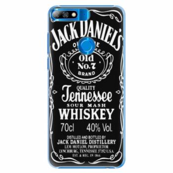 Plastové pouzdro iSaprio - Jack Daniels - Huawei Y7 Prime 2018