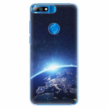Plastové pouzdro iSaprio - Earth at Night - Huawei Y7 Prime 2018