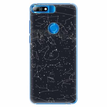 Plastové pouzdro iSaprio - Night Sky 01 - Huawei Y7 Prime 2018
