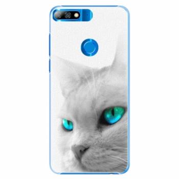 Plastové pouzdro iSaprio - Cats Eyes - Huawei Y7 Prime 2018