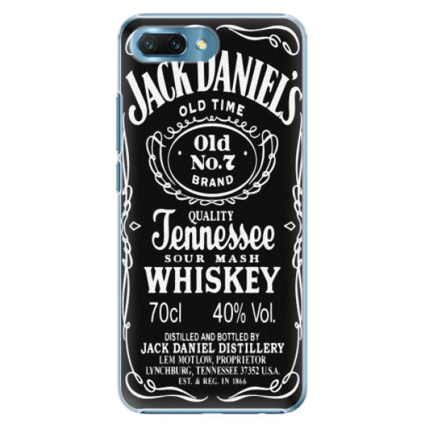 Plastové pouzdro iSaprio - Jack Daniels - Huawei Honor 10