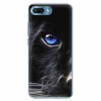 Plastové pouzdro iSaprio - Black Puma - Huawei Honor 10