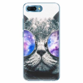 Plastové pouzdro iSaprio - Galaxy Cat - Huawei Honor 10