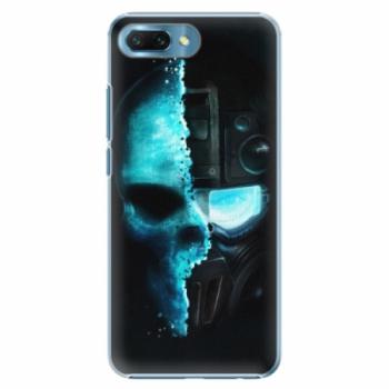 Plastové pouzdro iSaprio - Roboskull - Huawei Honor 10