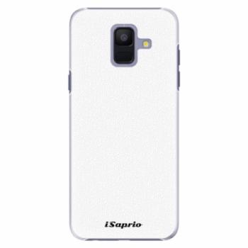 Plastové pouzdro iSaprio - 4Pure - bílý - Samsung Galaxy A6