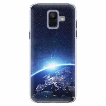 Plastové pouzdro iSaprio - Earth at Night - Samsung Galaxy A6