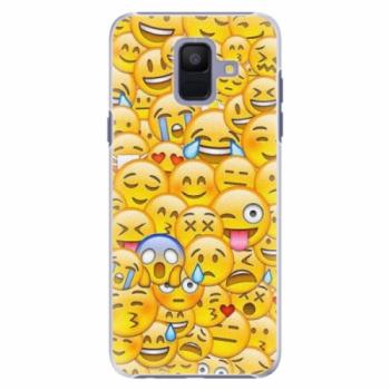 Plastové pouzdro iSaprio - Emoji - Samsung Galaxy A6