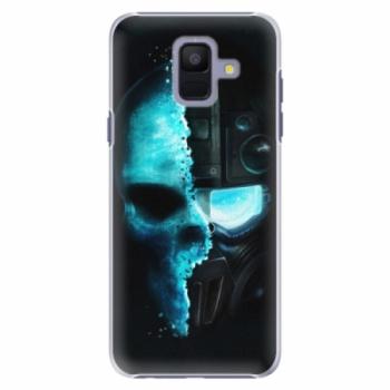 Plastové pouzdro iSaprio - Roboskull - Samsung Galaxy A6