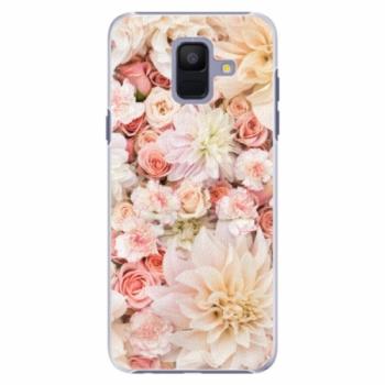 Plastové pouzdro iSaprio - Flower Pattern 06 - Samsung Galaxy A6