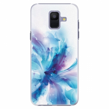 Plastové pouzdro iSaprio - Abstract Flower - Samsung Galaxy A6
