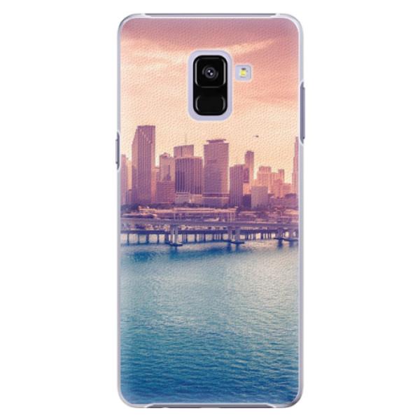 Plastové pouzdro iSaprio - Morning in a City - Samsung Galaxy A8+