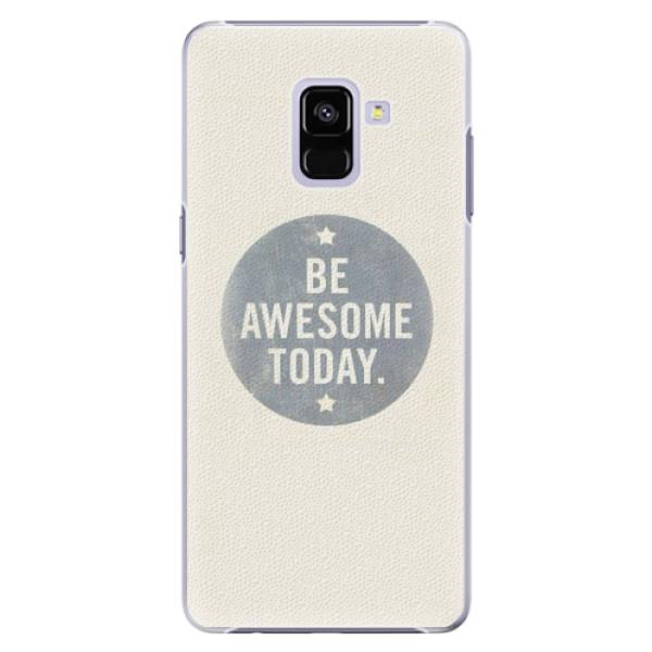 Plastové pouzdro iSaprio - Awesome 02 - Samsung Galaxy A8+