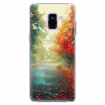 Plastové pouzdro iSaprio - Autumn 03 - Samsung Galaxy A8+