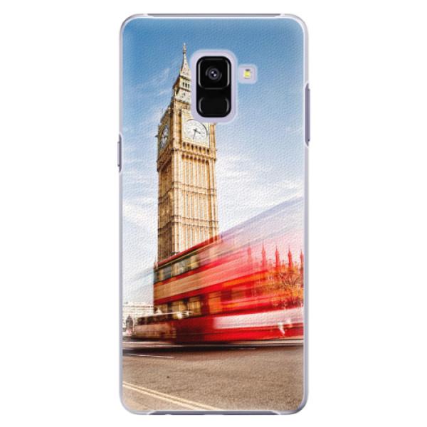 Plastové pouzdro iSaprio - London 01 - Samsung Galaxy A8+