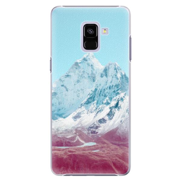 Plastové pouzdro iSaprio - Highest Mountains 01 - Samsung Galaxy A8+