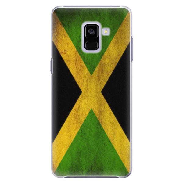 Plastové pouzdro iSaprio - Flag of Jamaica - Samsung Galaxy A8+