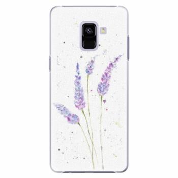 Plastové pouzdro iSaprio - Lavender - Samsung Galaxy A8+