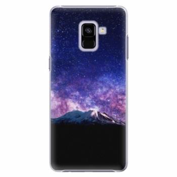 Plastové pouzdro iSaprio - Milky Way - Samsung Galaxy A8+