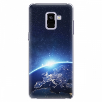 Plastové pouzdro iSaprio - Earth at Night - Samsung Galaxy A8+