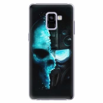 Plastové pouzdro iSaprio - Roboskull - Samsung Galaxy A8+