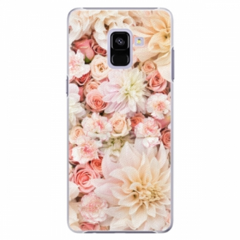 Plastové pouzdro iSaprio - Flower Pattern 06 - Samsung Galaxy A8+