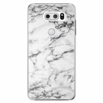 Plastové pouzdro iSaprio - White Marble 01 - LG V30
