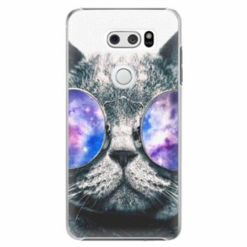 Plastové pouzdro iSaprio - Galaxy Cat - LG V30