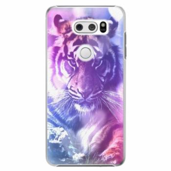 Plastové pouzdro iSaprio - Purple Tiger - LG V30