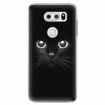 Plastové pouzdro iSaprio - Black Cat - LG V30