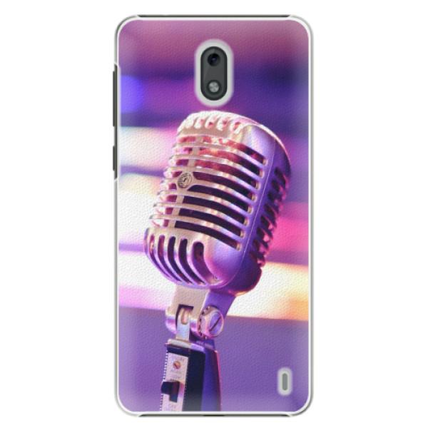 Plastové pouzdro iSaprio - Vintage Microphone - Nokia 2