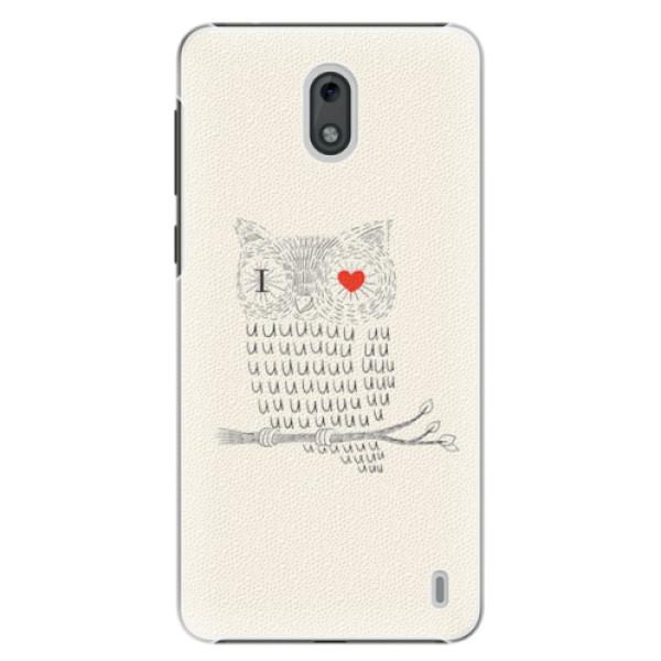 Plastové pouzdro iSaprio - I Love You 01 - Nokia 2