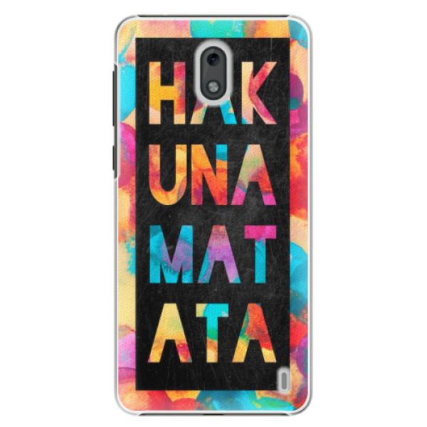 Plastové pouzdro iSaprio - Hakuna Matata 01 - Nokia 2